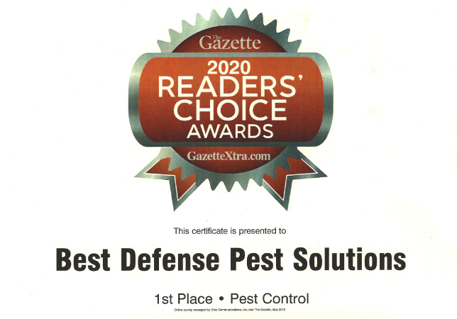 Best pest control in Janesville Wi award
